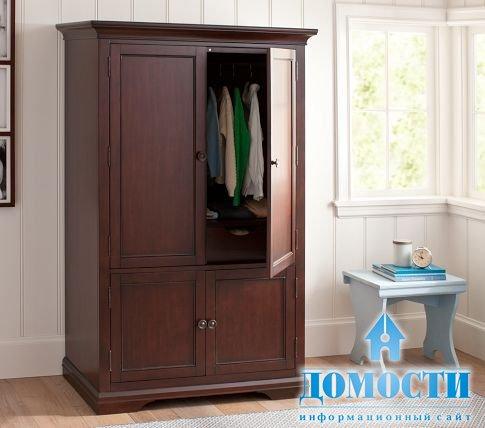 Штанга для одежды в платяной шкаф
