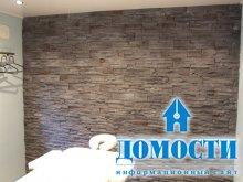 Стеновые панели с имитацией камня