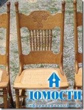 Украшения из старых стульев