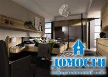 Лаконичная деревянная спальня