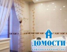 Установка панелей в ванной