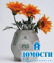 Картонные горшки для редких цветов