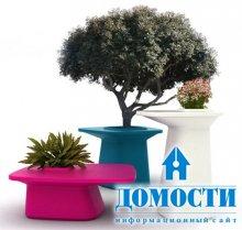 Горшки-стулья для растений