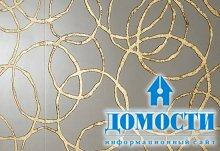 Декоративная плитка из золота