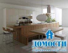 Лаконичные кухни с открытой планировкой