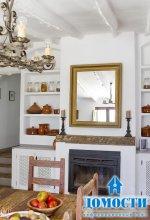 Деревенский стиль загородного дома