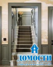 Деревянная резиденция с уникальной лестницей