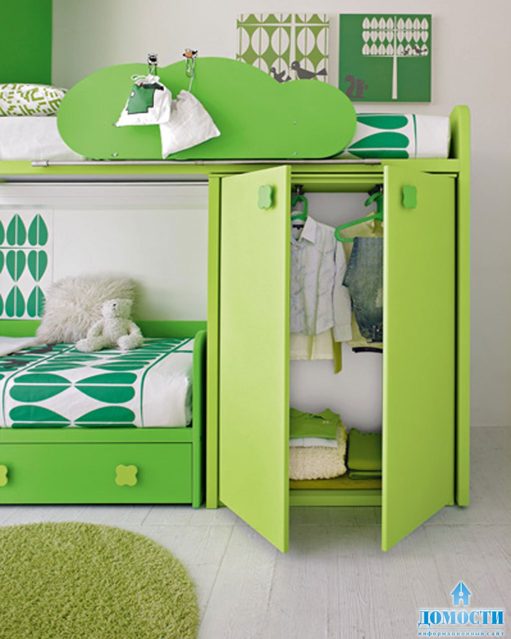 Мебель для детей для двоих фото