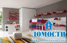 Функциональные и стильные детские комнаты