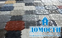 Дизайн бетонной мозаики
