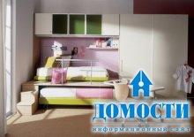 Спальни нежного цвета