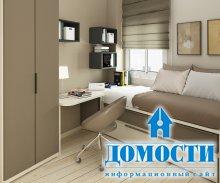 Красивые спальни с маленькой площадью