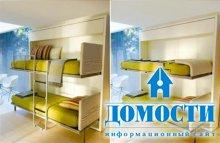 Спальни-гостиные с волшебными кроватями