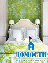 Маленькие спальни с яркими акцентами