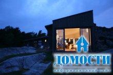 Клиновидный норвежский дом