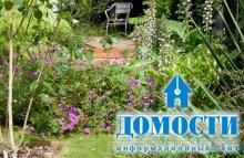 Сад для семейного отдыха