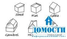Особенности разных форм крыши