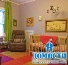 Продуманная комната для новорожденного