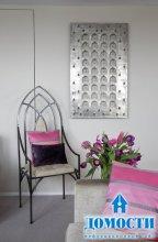 Серо-розовые интерьеры