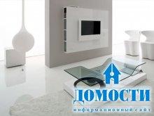 Контрастная мебель для современной гостиной