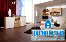 Модульные гостиные из дерева