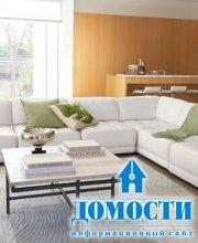 Мягкие модули для гостиной