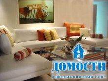 Угловые диваны для небольших гостиных