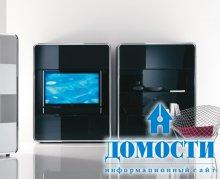 Высокотехнологичные гостиные комнаты