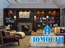 Яркий облик гостиных в стиле Арт Деко