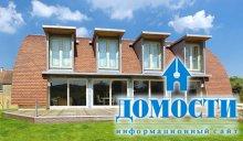 Экологичный дом с полукруглой крышей