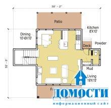 Проекты маленьких, но функциональных домов
