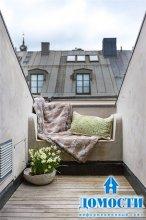 Зоны отдыха на крыше