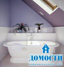Сочные цвета в ванной