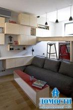Удобная квартира площадью 12 м2