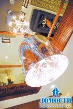 Шанхайский стиль трехкомнатной квартиры
