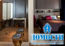Теплый интерьер квартиры в Сан-Паулу