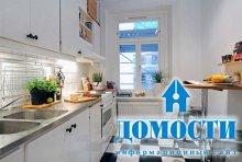 Меньше кухня – проще дизайн