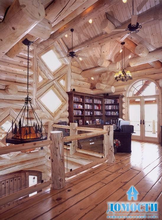 Красивые дома - Рубленые элементы - фото 16, всего фотографий 17.