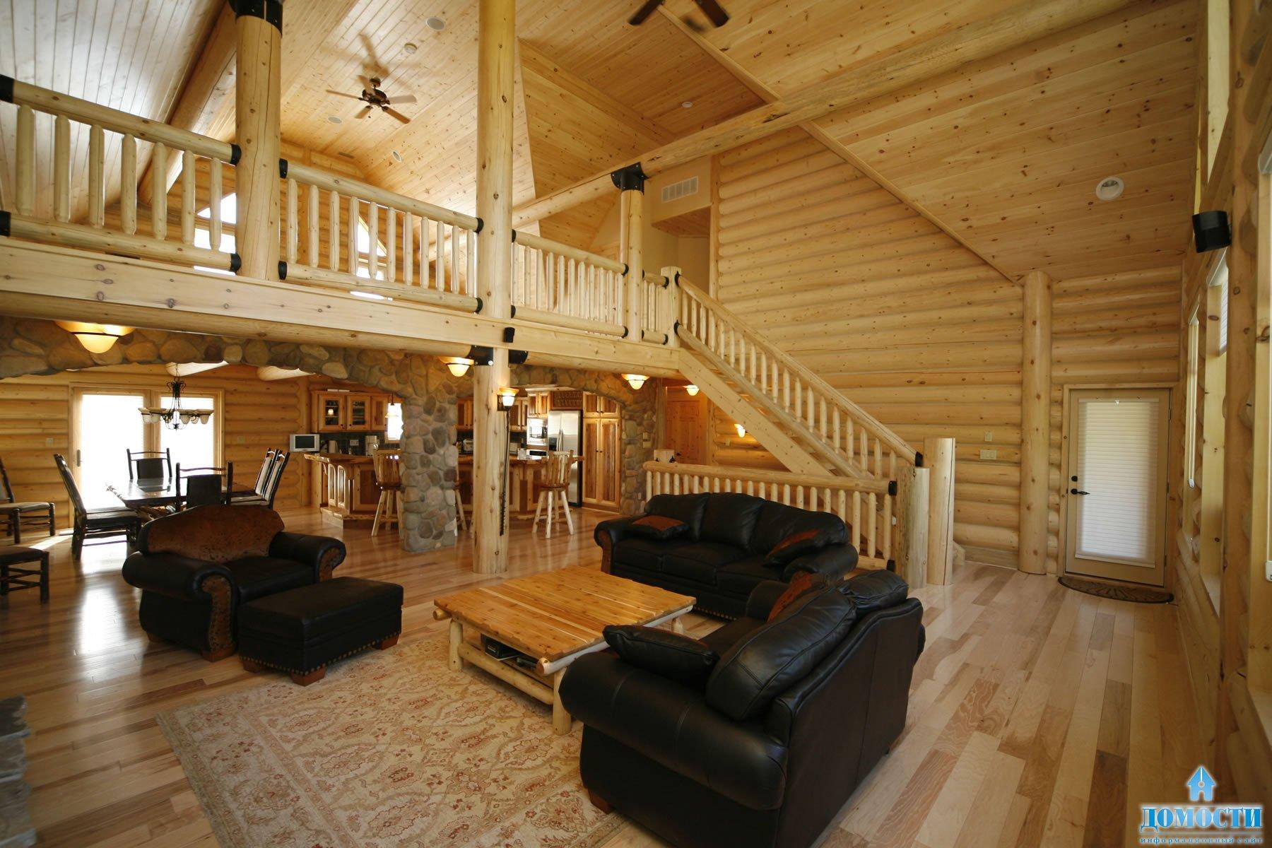 Деревенские деревянные дома