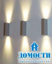 Декорирование дома при помощи света