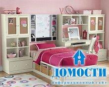Женственные спальни для юных леди