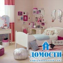 Светлые комнаты для девушек