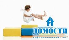 Стильный детский диван из модулей