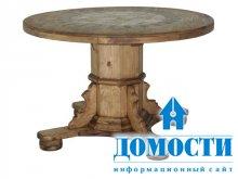 Деревенские столы из сосны