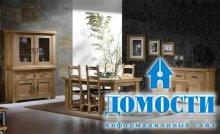 Мебель из ценной древесины