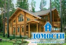 Экологичные дома из бревна