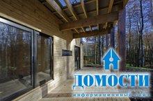 Пассивный дом из сырого лесоматериала