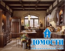 Создание кухни в классическом стиле