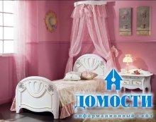 Изящные кровати с балдахином