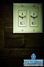 Экономия света при помощи выключателя